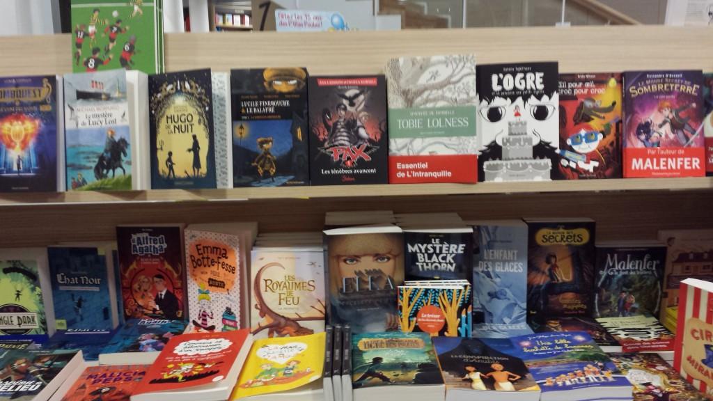 à la librairie L'intranquille à Besançon