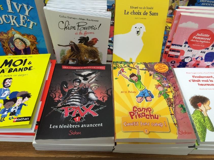 à la librairie Le chat pitre à Paris