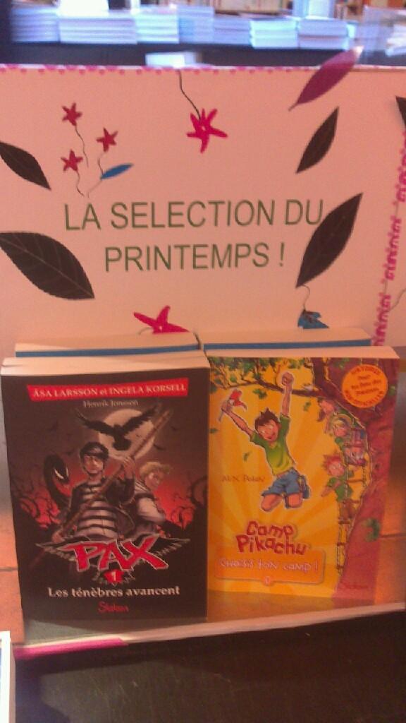 à la librairie La petite lumière à Paris