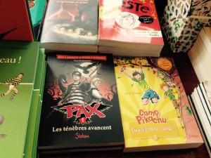 à la librairie Folies d'encre à Gagny