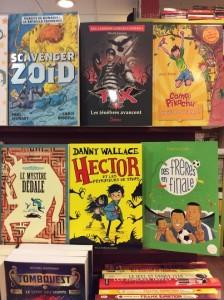 à la librairie Millepages jeunesse à Vincennes