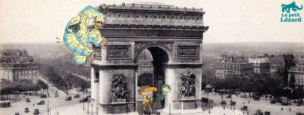Le Yéti de l'Arc de Triomphe